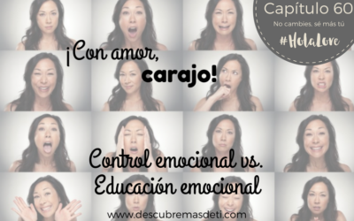 Control emocional vs. Educación Emocional