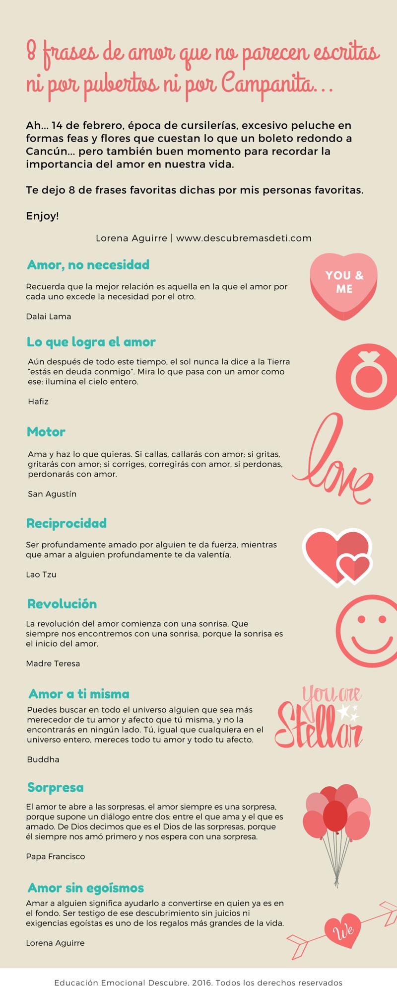 8 Frases De Amor Que No Dan Ganas De Vomitar Descubre Mas De Ti